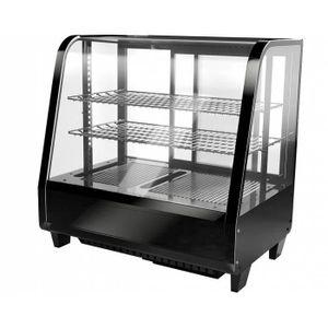 BUFFET RÉFRIGÉRÉ  vitrine réfrigérée professionnelle - 100% acier in