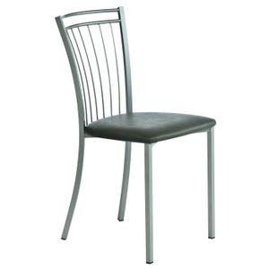 chaises de cuisine rouge achat vente chaises de cuisine rouge pas cher. Black Bedroom Furniture Sets. Home Design Ideas