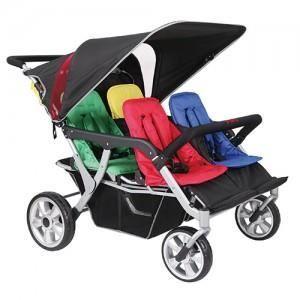 poussette quadruple familidoo multicolore achat vente poussette 2009918824720 cdiscount. Black Bedroom Furniture Sets. Home Design Ideas