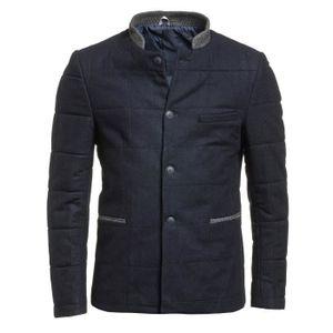 veste matelassee homme bleu marine achat vente veste matelassee homme bleu marine pas cher. Black Bedroom Furniture Sets. Home Design Ideas