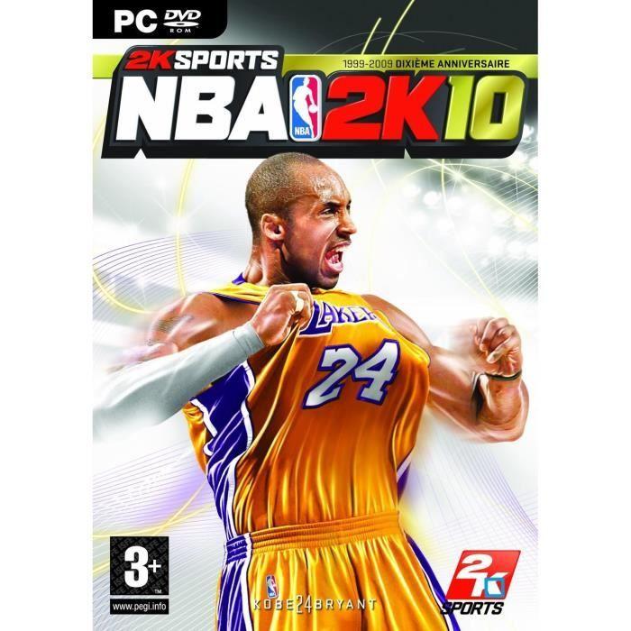 JEU PC NBA 2K10 / JEU PC DVD-ROM