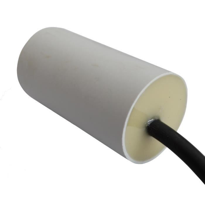 condensateur de d marrage pour moteur 8 f 450v pr c bl achat vente condensateur cdiscount. Black Bedroom Furniture Sets. Home Design Ideas
