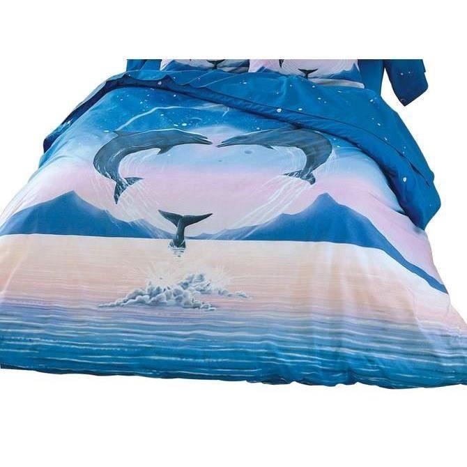 housse de couette polycoton 57fils dauphin achat vente housse de couette. Black Bedroom Furniture Sets. Home Design Ideas
