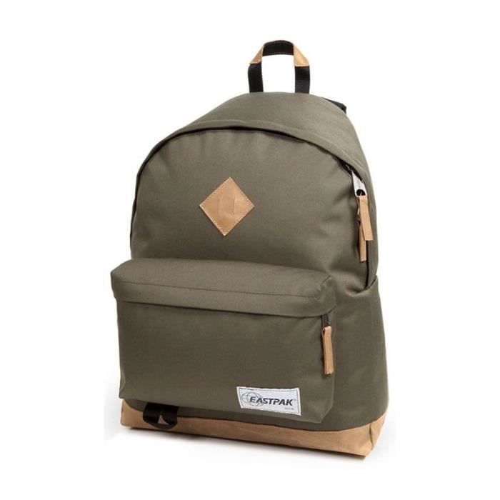 sac dos eastpak wyoming into the out khaki achat. Black Bedroom Furniture Sets. Home Design Ideas