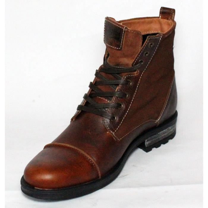 levi 39 s bottes chaussures homme cuir brown t 40 achat vente bottine levi 39 s bottes chaussures. Black Bedroom Furniture Sets. Home Design Ideas