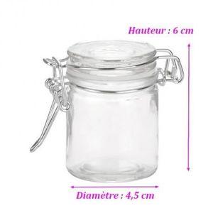petit pots de verre achat vente petit pots de verre pas cher cdiscount. Black Bedroom Furniture Sets. Home Design Ideas
