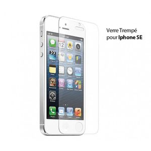 vitre protection iphone se achat vente vitre. Black Bedroom Furniture Sets. Home Design Ideas
