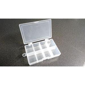 boite de rangement plastique avec compartiment amovible achat vente boite de rangement. Black Bedroom Furniture Sets. Home Design Ideas