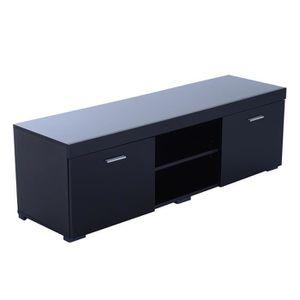 meuble tv 140 cm achat vente meuble tv 140 cm pas cher. Black Bedroom Furniture Sets. Home Design Ideas