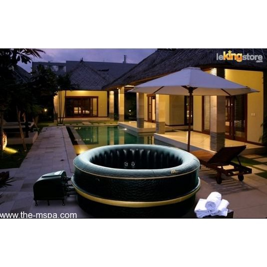 Spa jacuzzi gonflable jet luxury exotic j 211 4 achat vente spa complet - Jacuzzi gonflable brico ...