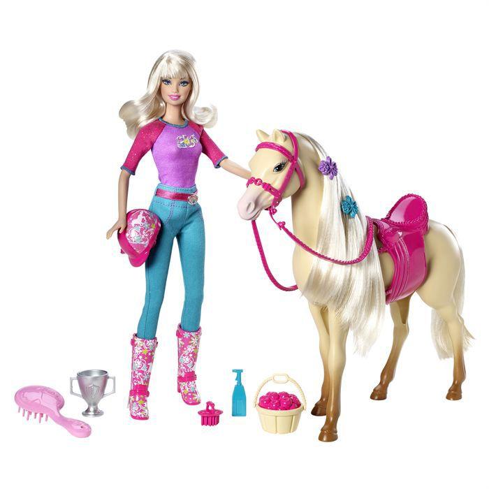 Barbie cheval - Barbie au cheval ...