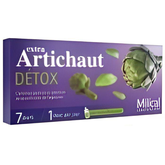 Milical Extra Artichaut Détox 7 Doses - Achat / Vente