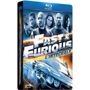 BLU-RAY FILM Blu-Ray Fast and Furious l'intégrale des 5 Films