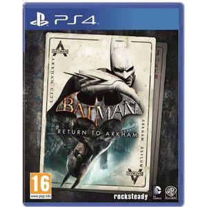 JEU PS4 Batman : Return to Arkham Jeu PS4
