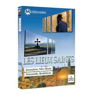 DVD DOCUMENTAIRE LES LIEUX SAINTS   (2 DVD)