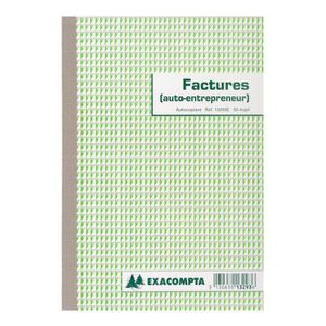 cahier facture