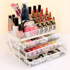 boite pour ranger le maquillage achat vente boite pour. Black Bedroom Furniture Sets. Home Design Ideas