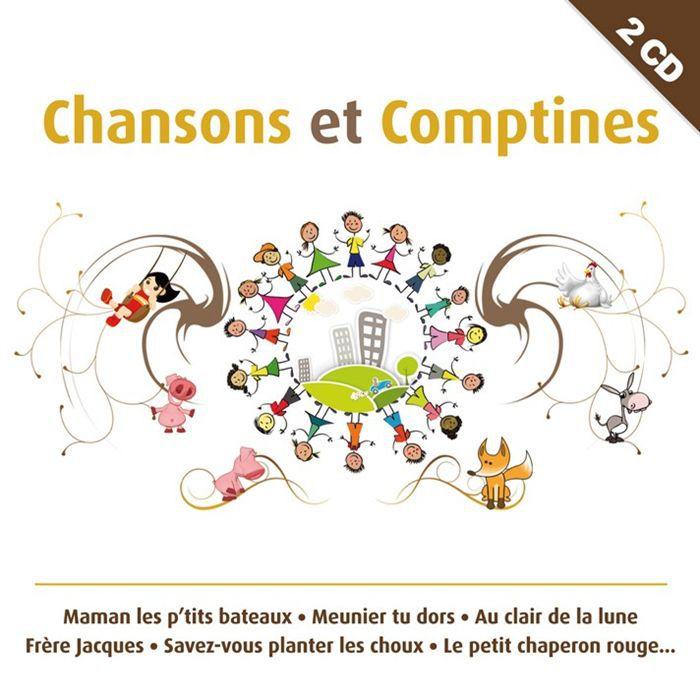 comptines et chansons compilation achat cd compilation pas cher