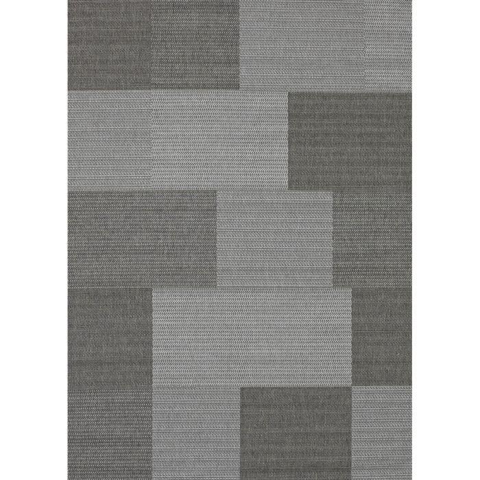allotapis tapis int rieur et ext rieur contemporain gris matrix 60x110cm gris achat. Black Bedroom Furniture Sets. Home Design Ideas