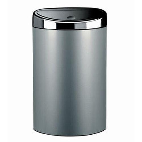 poubelle touch bin brabantia 40 l achat vente poubelle corbeille poubelle touch bin. Black Bedroom Furniture Sets. Home Design Ideas