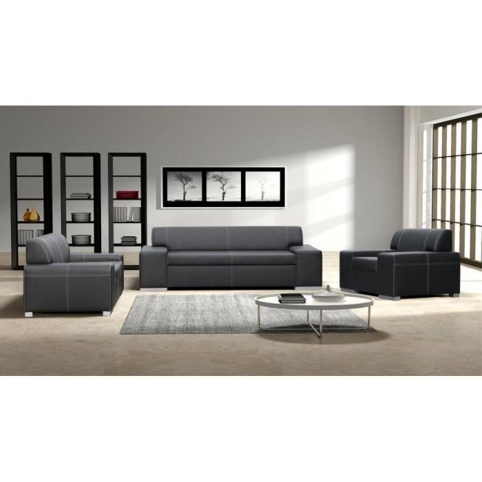Justhome toscania ensemble de meubles de salon 3r 2 1 for Ensemble de salon complet