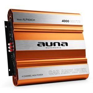 AMPLIFICATEUR AUTO auna Ampli de voiture 3/4 canaux pour tuning auto