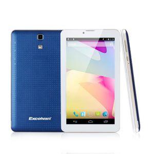 """TABLETTE TACTILE Excelvan BT-MT91 HD Tablette 7"""" Blanc-Bleu Dual SI"""