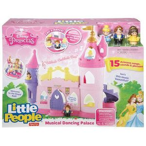 FIGURINE - PERSONNAGE Fisher Price Little People Musical Dancing Palace
