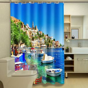 rideau de douche beau paysage achat vente rideau de douche beau paysage pas cher cdiscount. Black Bedroom Furniture Sets. Home Design Ideas