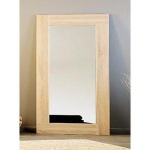 Miroir chene achat vente miroir chene pas cher for Miroir brut vente