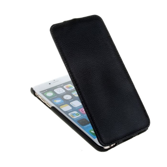 Luxe flip housse etui litchi cuir pour apple iphone 6 plus for Housse iphone 6 luxe