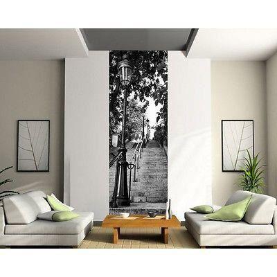 Papier peint Lé unique Escalier Paris 2045 Dimensions 81x230cm