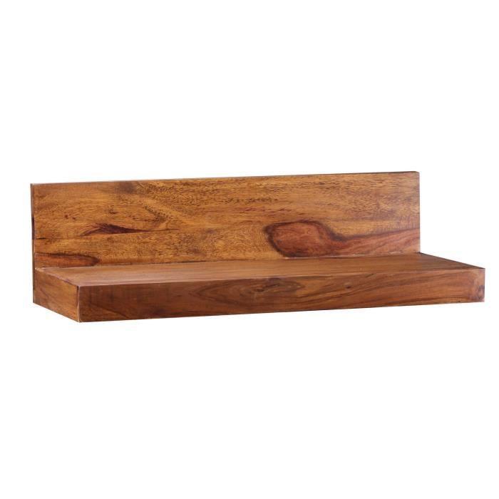 wohnling solide mur en bois tag re 60 cm palissandre achat vente tiroir coulissant wohnling. Black Bedroom Furniture Sets. Home Design Ideas
