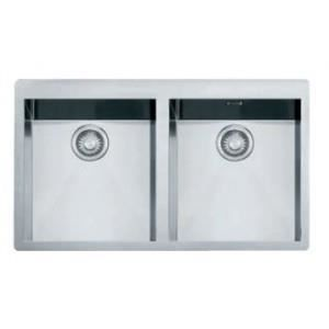 Evier 2 cuves planar inox ppx220 frank achat vente for Robinetterie evier cuisine