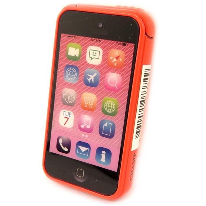 briquet lectronique iphone orange achat vente. Black Bedroom Furniture Sets. Home Design Ideas
