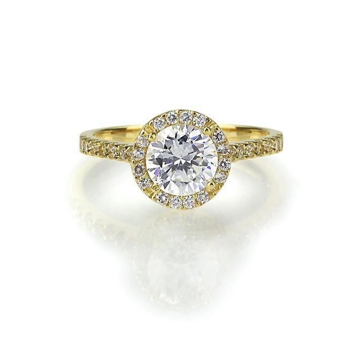 ... bague - anneau Bague Femme - 585/1000 Or J... Femme Adulte Or jaune