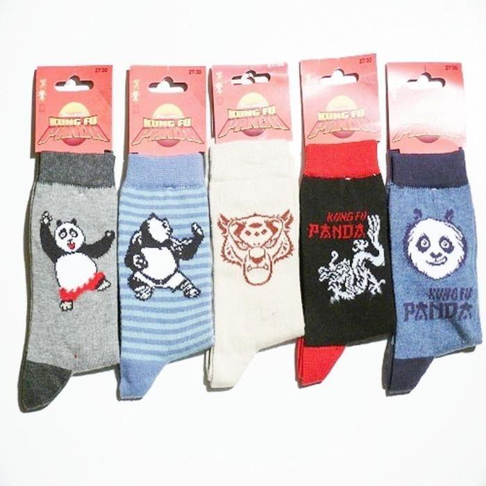 acheter chaussette kung fu panda paire de chaussettes kungfu panda 3 pas cher. Black Bedroom Furniture Sets. Home Design Ideas