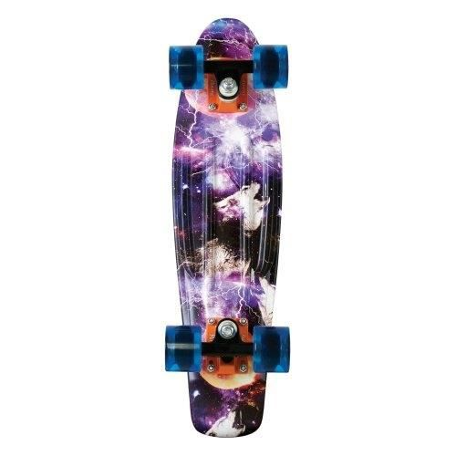 PENNY GRAPHIC SKATEBOARD, SPACE 22 INCH PENNY GRAPHIC SKATEBOARD