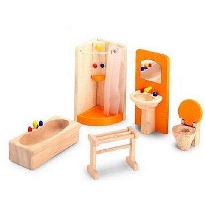 Accessoires pour maison de poup es salle de b achat for Accessoires de maison