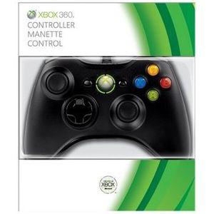 MANETTE CONSOLE Manette Filaire Noire Accessoire Xbox 360