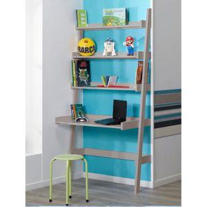 bureau etagere achat vente bureau etagere pas cher cdiscount. Black Bedroom Furniture Sets. Home Design Ideas