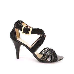 ESCARPIN Escarpins Noir Chaussures Femme, Cendriyon