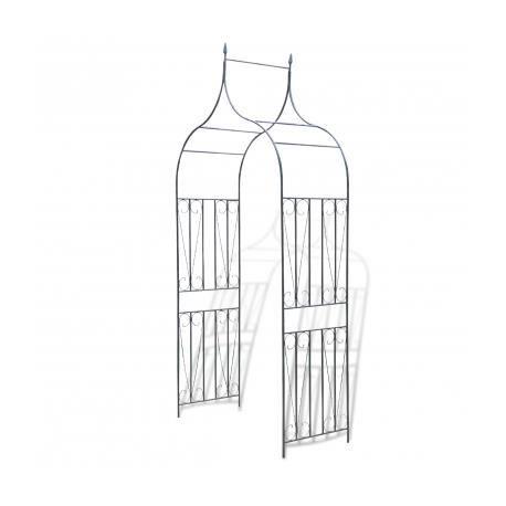 arche de jardin pointue pour des plantes grimpantes achat vente tonnelle barnum arche de. Black Bedroom Furniture Sets. Home Design Ideas