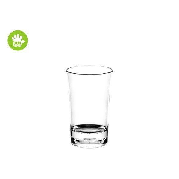 lot de 3 verres liqueur en plastique incassable et r utilisable 5cl achat vente verre. Black Bedroom Furniture Sets. Home Design Ideas