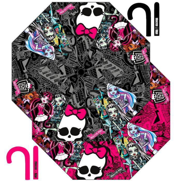 Monster high parapluie 48 cm noir 26134 noir achat vente parapluie 1633 - Vente de monster high ...