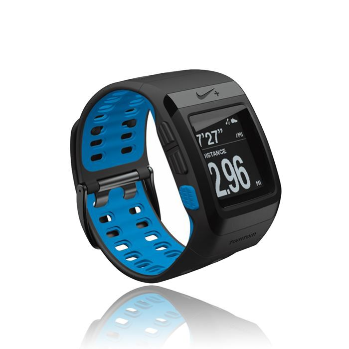 tomtom nike sportwatch black blue montre gps achat vente montre outdoor tomtom nike. Black Bedroom Furniture Sets. Home Design Ideas