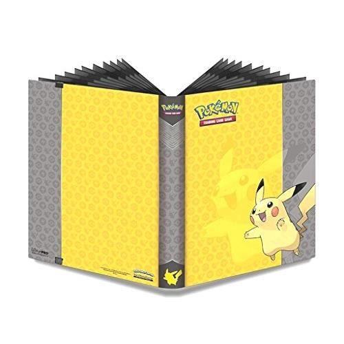 cahier range cartes pikachu 360 cartes achat vente cartes de jeu cdiscount
