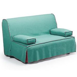 Clic clac 140x190 achat vente clic clac 140x190 pas cher cdiscount - Canape convertible turquoise ...
