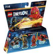 FIGURINE DE JEU Figurines LEGO Dimensions - Cole et Kai - LEGO Nin