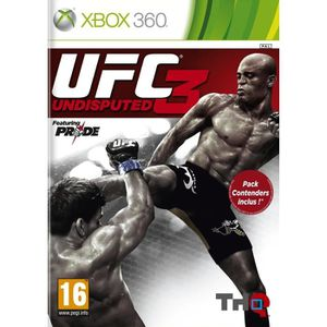 JEUX XBOX 360 UFC UNDISPUTED 3 CONTENDERS PACK / Jeu XBOX 360
